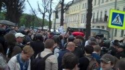 Флешмоб в Петербурге