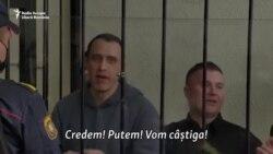 Șapte opozanți ai regimului Lukașenko condamnați la pedepse între patru și șapte ani de închisoare