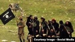 Боевики ИГ в Афганистане. Фото из архива