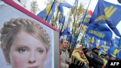 Analysts say Russia hopes to exploit a chill in relations between Kyiv and Brussels over the jail sentence handed down to Ukrainian opposition leader Yulia Tymoshenko.