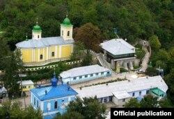 Mănăstirea Saharna. Foto: mitropolia.md