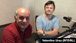Jurnalistul Gheorghe Budeanu și criticul literar Vitalie Răileanu