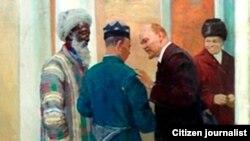 Рассом Неъмат Қўзибоевнинг музейдан ғойиб бўлган асари