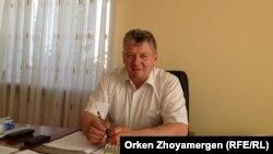 Анатолий Кривецкий, заместитель акима Акколькского района. Акмолинская область, 17 июня 2013 года.