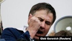Грузиянын экс-президенти, Украинанын Одесса облусунун мурдагы губернатору Михаил Саакашвили.