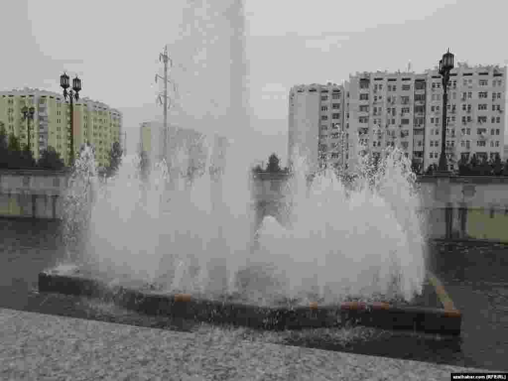 Işleýän fontan