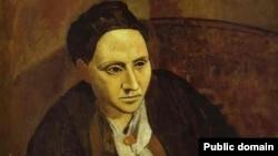 Пабло Пикассо. Портрет Гертруды Стайн (фрагмент)