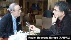 Geršman u razgovoru sa novinarom RSE Draganom Štavljaninom