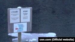Реквизит военных учений морской пехоты США в районе норвежско-российской границы (конец 2018 года)