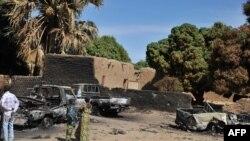 Camioane ale trupelor islamiste distruse în localitatea Diabaly