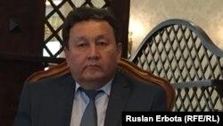 Мемлекеттік басқару академиясының оқытушысы Айдар Әбуов. Астана, 10 маусым 2016 жыл.