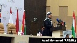 علي قرداغي رئيس امناء جامعة التنمية البشرية في السليمانية