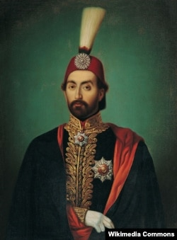 Султан Абдул-Меджид I. Неизвестный художник. Середина XIX века