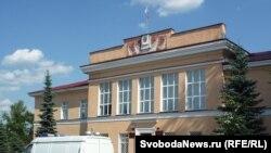 Здание суда в Вельске, где будет рассматриваться заявление об УДО Платона Лебедева
