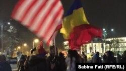 București, Piața Victoriei, 10 februarie 2017