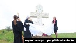 Открытие «Поклонного креста» в Керчи, 8 мая 2017 год