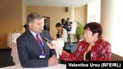 Victor Chirilă intervievat de Valentina Ursu la Riga