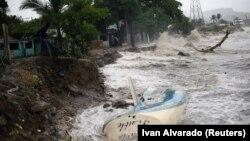 Uragani Irma në brigjet e ishujve Karaibe