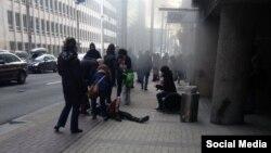 Очевидцы сообщают еще об одном взрыве в Брюсселе