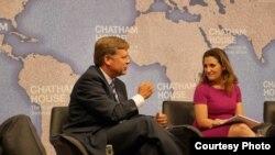 Екс-посол США в Росії Майкл Макфол та канадський депутат Христя Фріланд