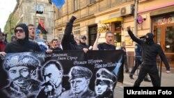 Марш до 70-річчя заснування дивізії «Галичина» у Львові, 28 квітня 2013 року
