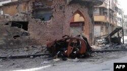 Homs, 10. april 2012.
