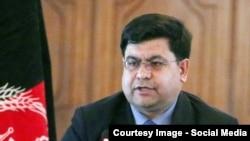 شاه حسین مرتضوی سرپرست دفتر سخنگوی ریاست جمهوری افغانستان