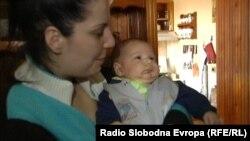 Đorđe Vasović sa majkom