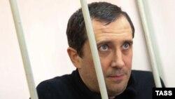 Александр Марголин во время суда