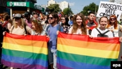 Марш рівності. Київ, 18 червня 2017 року