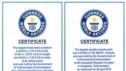 Olimpiýa şäherçesiniň iki desgasy Ginnesiň rekordlar kitabyna girizildi
