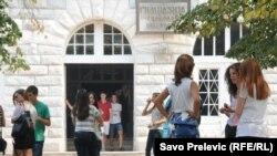 Srednjoškolci u Podgorici