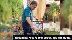 """Фото со страницы Саиды Мирзиеевой в """"Фейсбуке""""."""