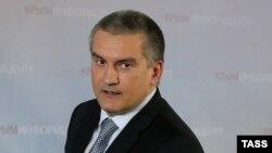 Сергій Аксьонов, самопроголошений «прем'єр-міністр» Криму