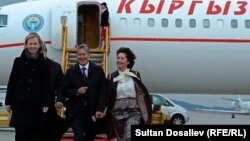 Алмазбек Атамбаевдин Европага сапары Австриядан башталган