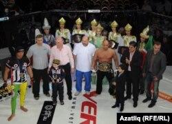 Корнел Западка белән булган бәрелештә Мусага чемпион исемен алыр өчен 30 секунд җитте