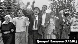 Казан урамында татар яшьләре