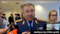 Глава МВД Казахстана Ерлан Тургумбаев.