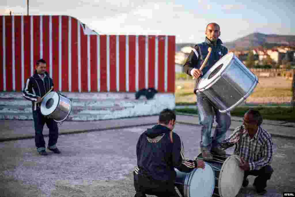 The Drummers Of Macedonia's Semka Band #14