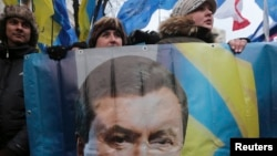 Ousted President Viktor Yanukovych's Party of Regions will be the main target of a lustration law.
