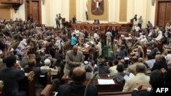 Первая сессия парламента Египта
