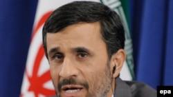 Mahmud Ahmadinedžad na konferenciji za novinare u Njujorku, 25. septembar 2009.