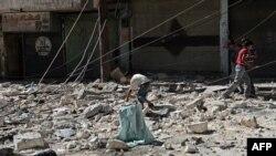 ویرانههای جنگ سوریه؛ عکس آرشیوی است