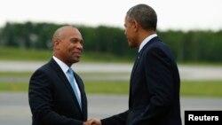Девал Патрик и Барак Обама