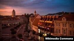 Вид Вильнюса. Иллюстративное фото