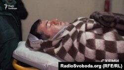 Роман Насіров у відомчій лікарні «Феофанія» в Києві, 3 березня 2017 року
