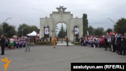Նորաբաց Կուրսկի հրապարակը Գյումրիում