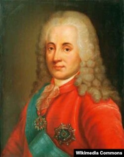 Князь Дмитрий Михайлович Голицын (1665-1737). Неизвестный художник
