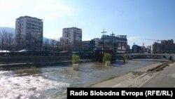Реката Вардар во Скопје