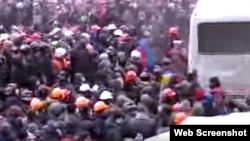 Центр Киева. 19 января
